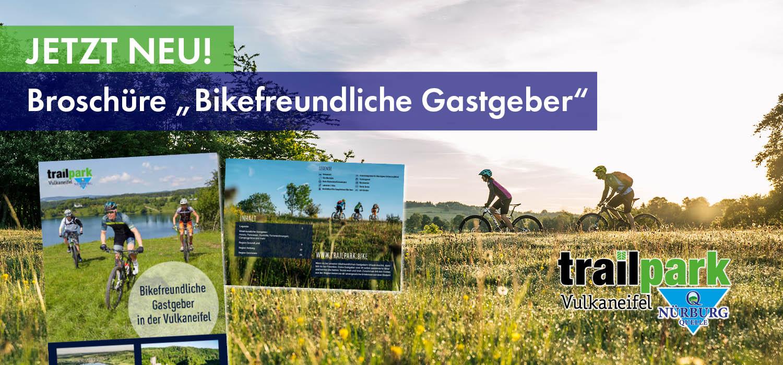 Bikefreundliche Gastgeber Vulkaneifel